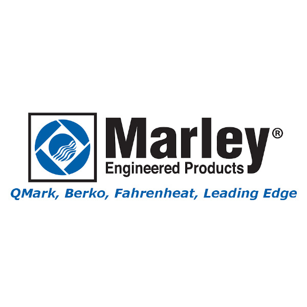 Picture of Marley Grille 2501-2026-000 Qmark Berko Parts Grille  R  White